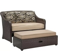 Hanover Cuddle Chair and a Half with Storage Ottoman  QVC.com