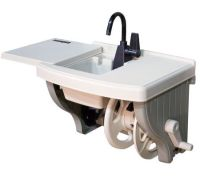 Outdoor Sink with Hose Reel  QVC.com