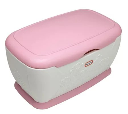 Little Tikes Giant Pink Toy Chest Qvc