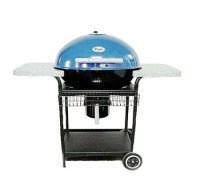 Patio Classic 6000 Blue Charcoal Grill  QVC.com