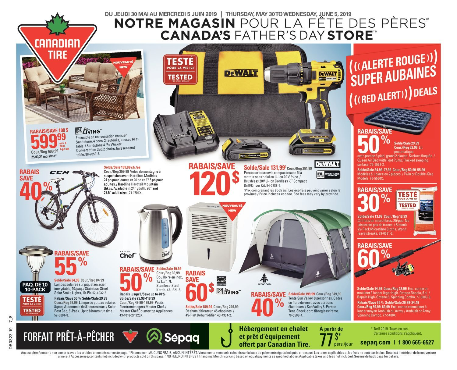 Pouf Exterieur Canadian Tire Canadian Tire Weekly Flyer Weekly Canada S Father S Day