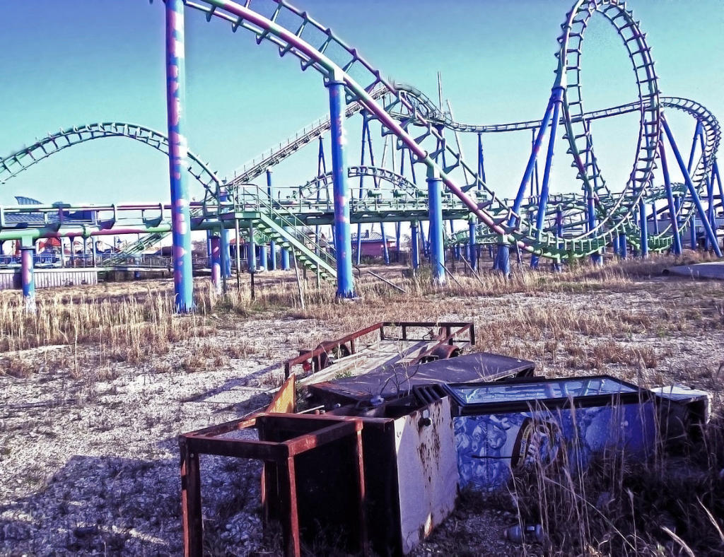 Six Flags Jazzland 10 Eerie Abandoned Amusement Parks The Hauntist