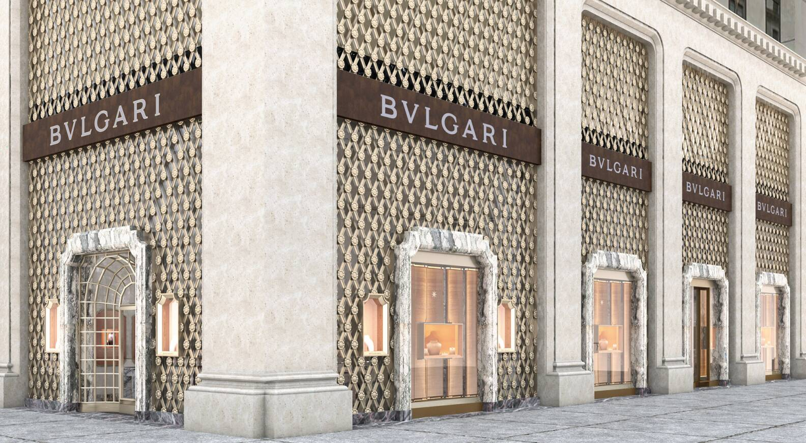 Architecte D'intérieur New York Bulgari Brings Italian Lifestyle To New York At Fifth Avenue