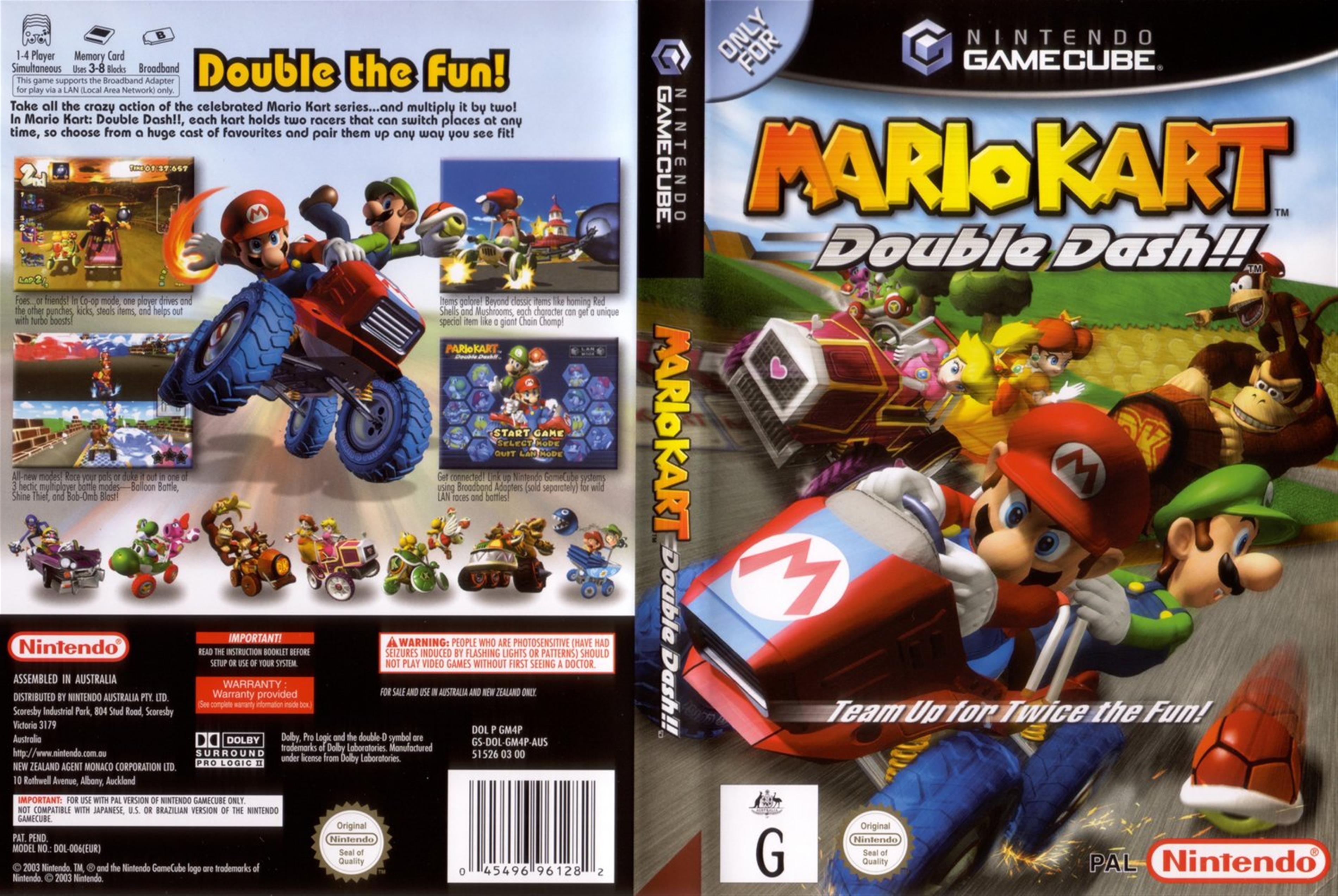 Animal Crossing Wild World Wallpaper Mario Kart Double Dash Iso