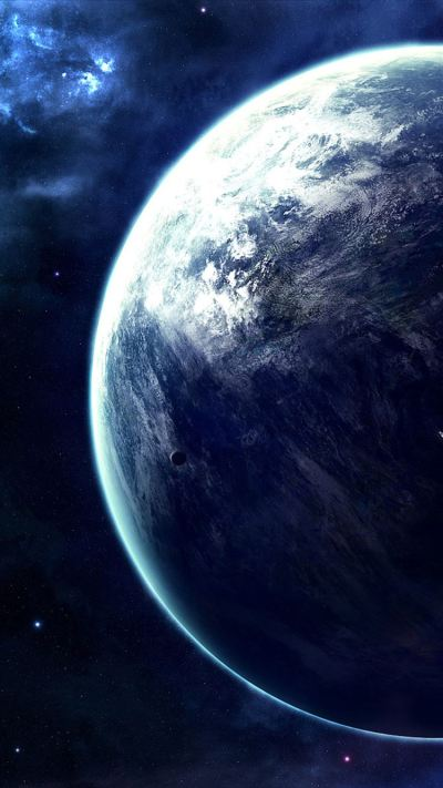 Spectacular Outer Space Planet View iPhone 8 Wallpaper Download | iPhone Wallpapers, iPad ...