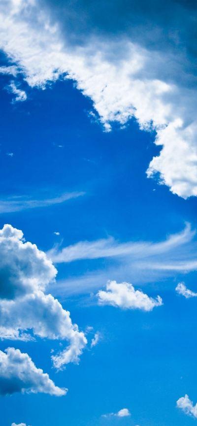 Blue clouds iPhone se Wallpaper Download | iPhone Wallpapers, iPad wallpapers One-stop Download