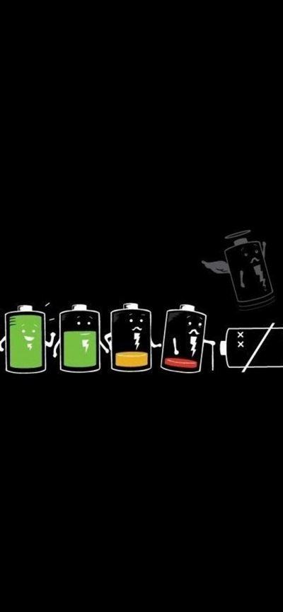 Battery Life Cycle Funny iPhone se Wallpaper Download | iPhone Wallpapers, iPad wallpapers One ...