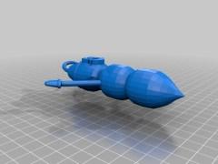 Mr Hanky 3D Printed