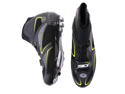 Sidi Frost Gore Mtb Winter Shoe Black Yellow 21950