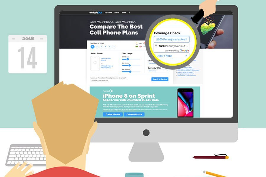How to Check Cell Phone Coverage Using WhistleOut WhistleOut