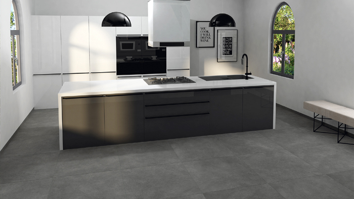 Fliesen Betonoptik Anthrazit Fliesentrends - Raab Karcher