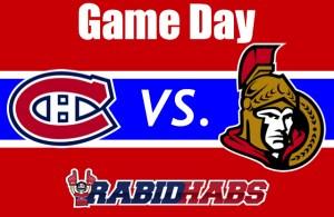 Senators Game Day
