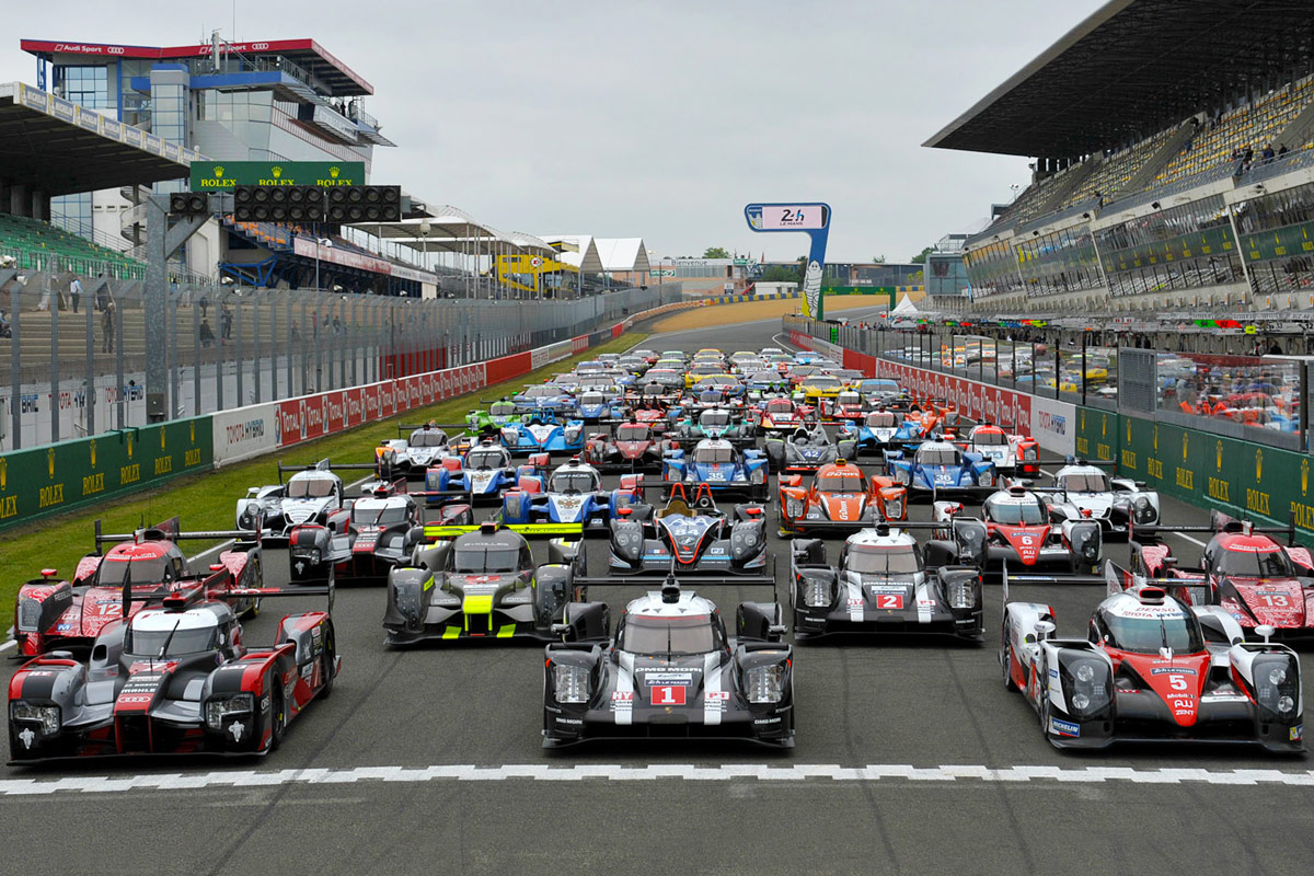 Le Mans 2017 60 Cars Confirmed For Next Month 39s Le Mans 24 Hour Race