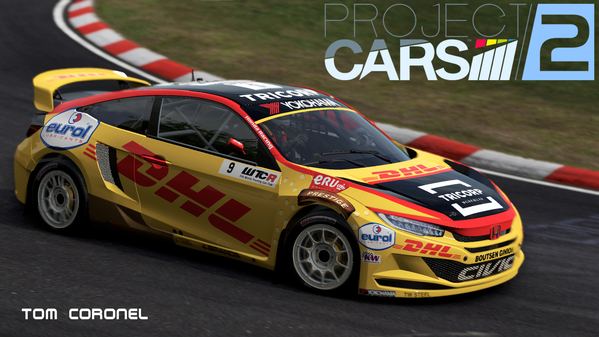 Tom Coronel Tom Coronel Honda Civic Type R Tcr Racedepartment Latest
