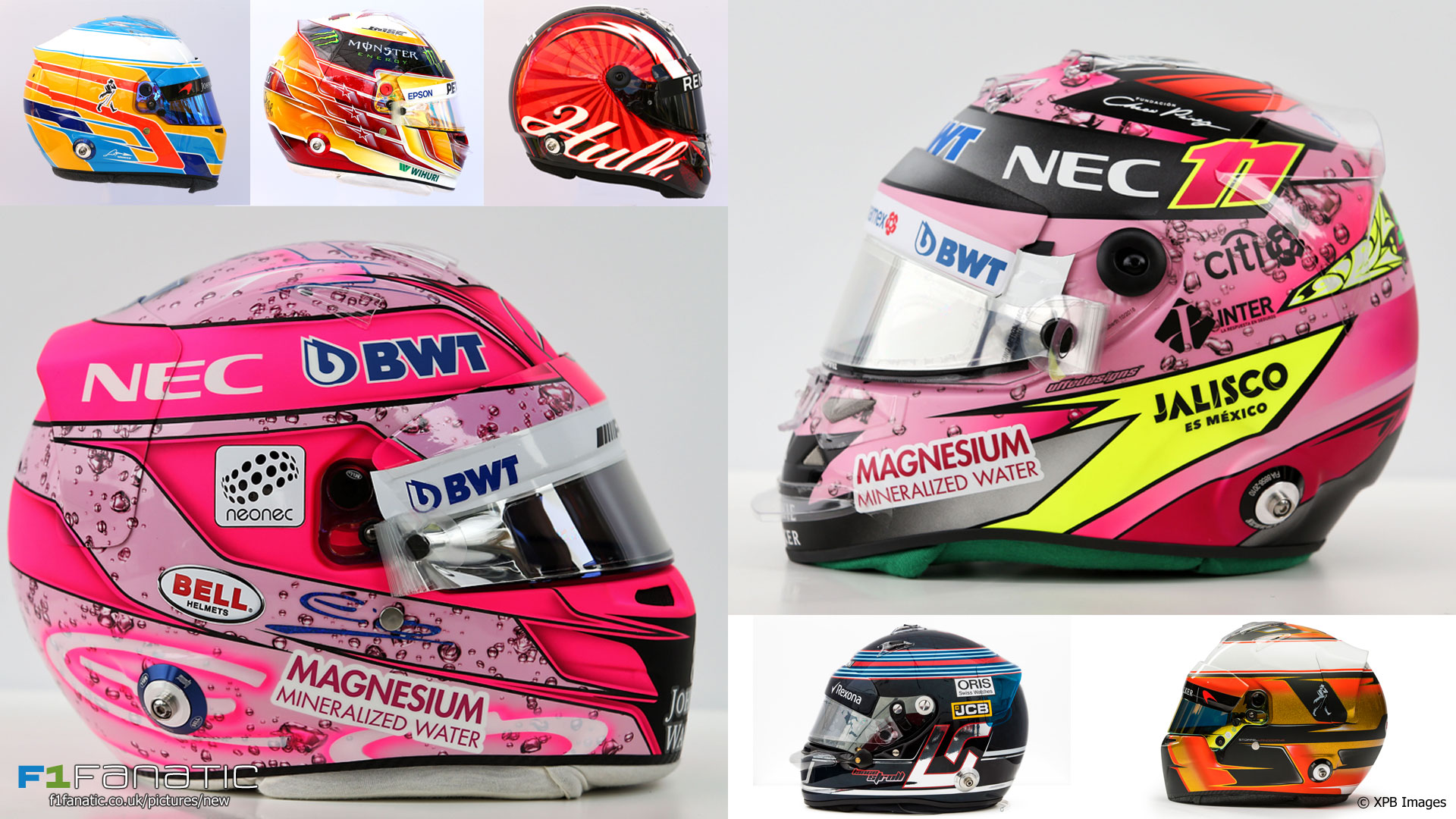 F1 2017 Drivers In Pictures All 21 F1 Drivers Helmets For The 2017 Season Racefans