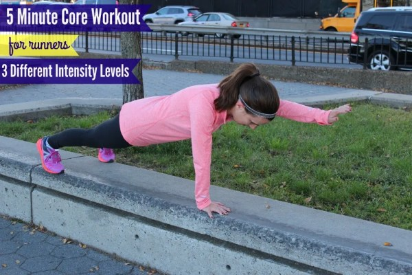 5 Minute Core Workout for Runners