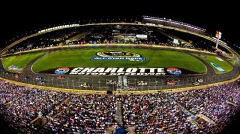New format set for nascar sprint all star race racers for Charlotte motor speedway drag racing