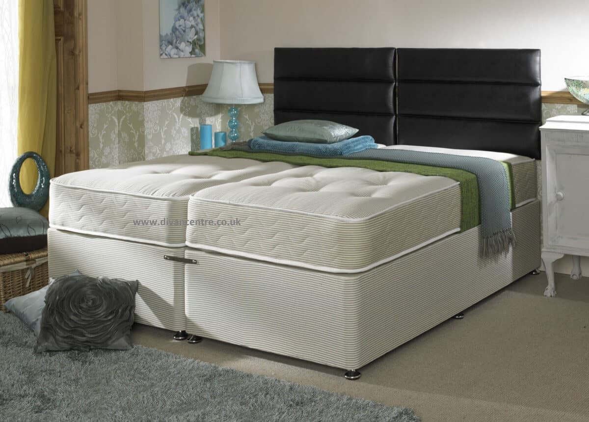 Zip Together Beds Using A Zip And Link Bed To Change A Guest Room To Suit