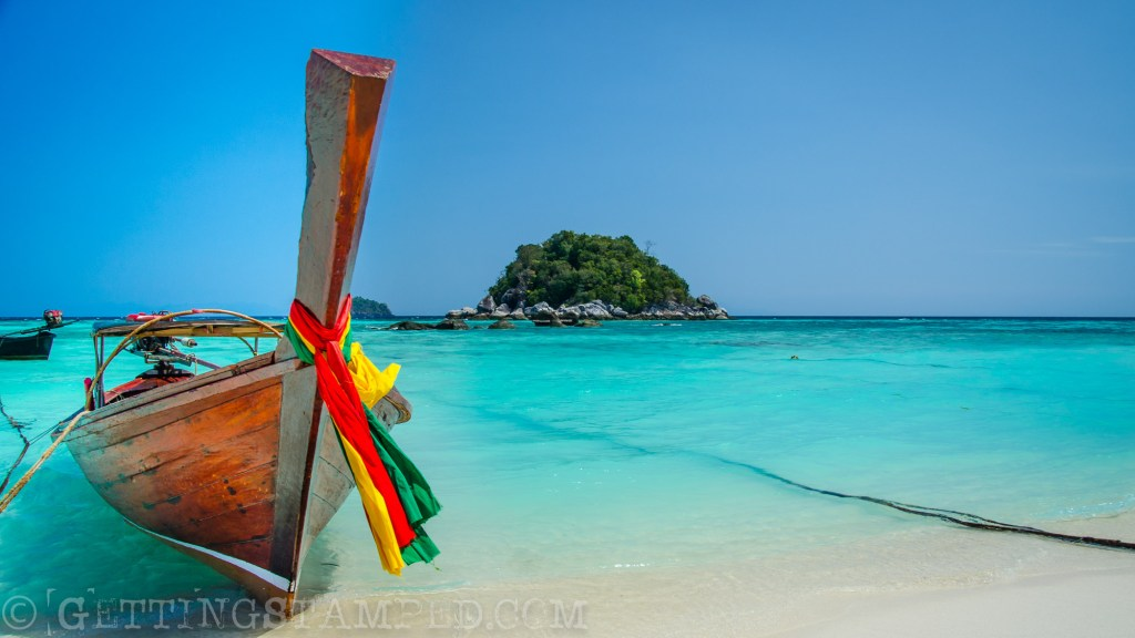 Adam writes: This is my version of Paradise! If I could wake up tomorrow anywhere in the world it would be Koh Lipe Thailand. 30 miles from any other inhabited island, amazing food, less visited, and just look at that water!