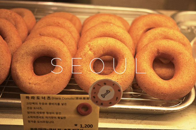 Seoul: Myeongdong and donuts
