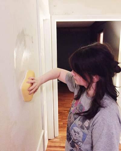 Rachel Schultz: HOW TO PAINT WALLS AFTER REMOVING WALLPAPER