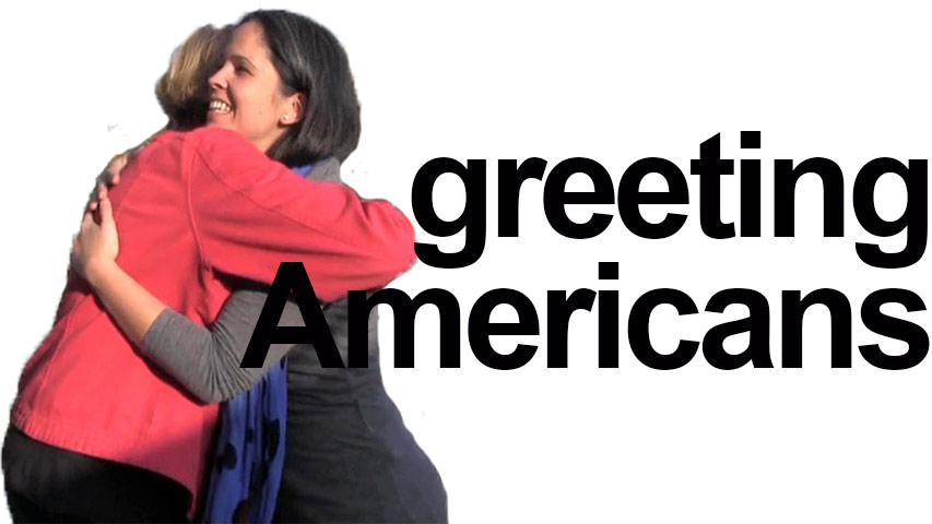 How to say HELLO! Greet Americans - Rachel\u0027s English