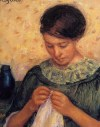 Mary_Cassatt_Woman_Sewing
