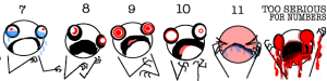hypberole and a hal pain chart two