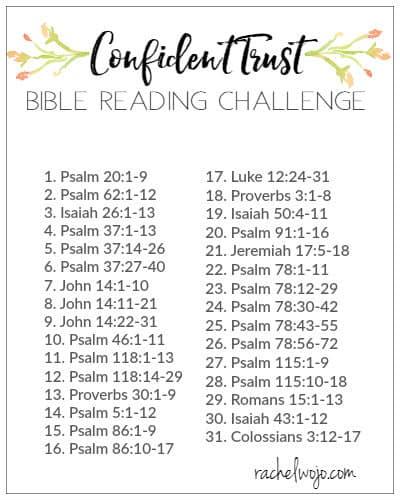 May 2018 Bible Reading Plan and Journal Challenge - RachelWojo