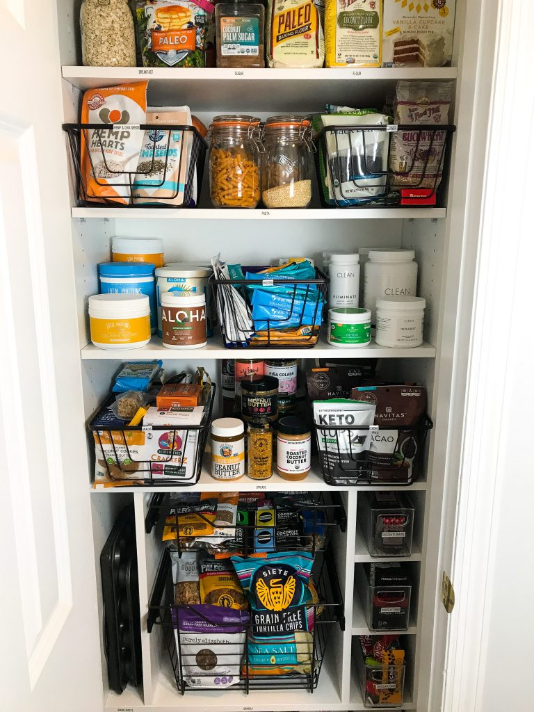 Pantry Organization Home Reveal Part One Pantry Kitchen Organization Rachlmansfield