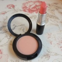 MAC Stay By Me Pro Longwear Blush & Coral Bliss Cremesheen Lipstick review - going coral cray-cray!