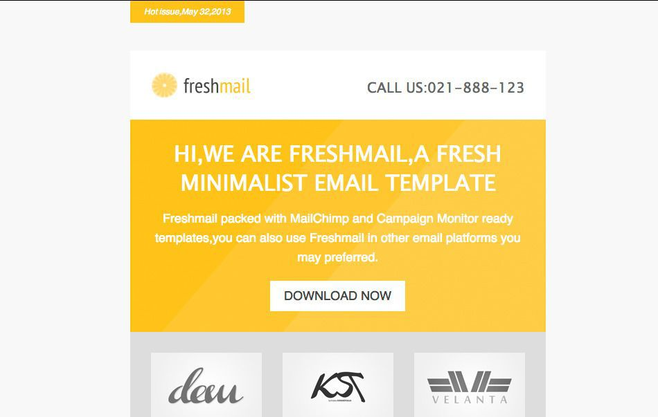20 Go To Places For Truly Awesome Newsletter Templates