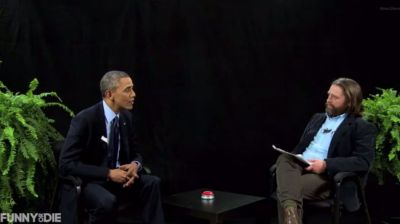Obama Goes Between Two Ferns With Zach Galifianakis