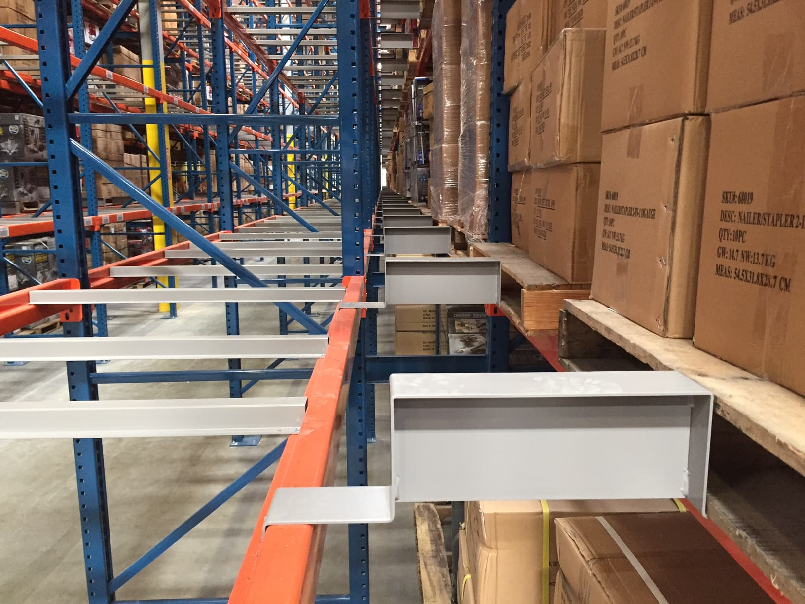 Flue Space For Back To Back Warehouse Pallet Shelving