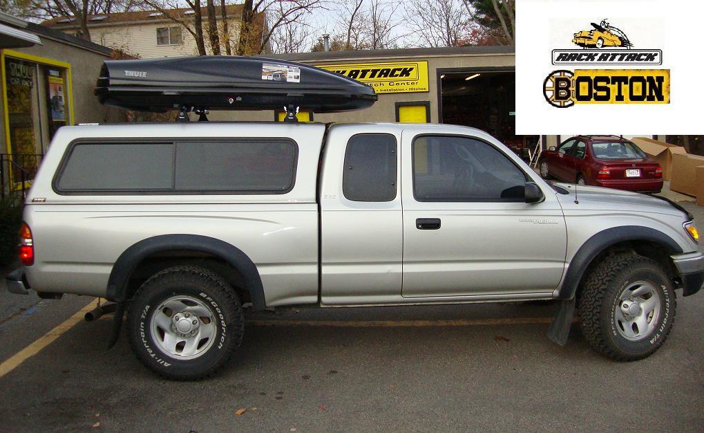 Toyota Tacoma Fiberglass Truck Cap Custom Drill Track