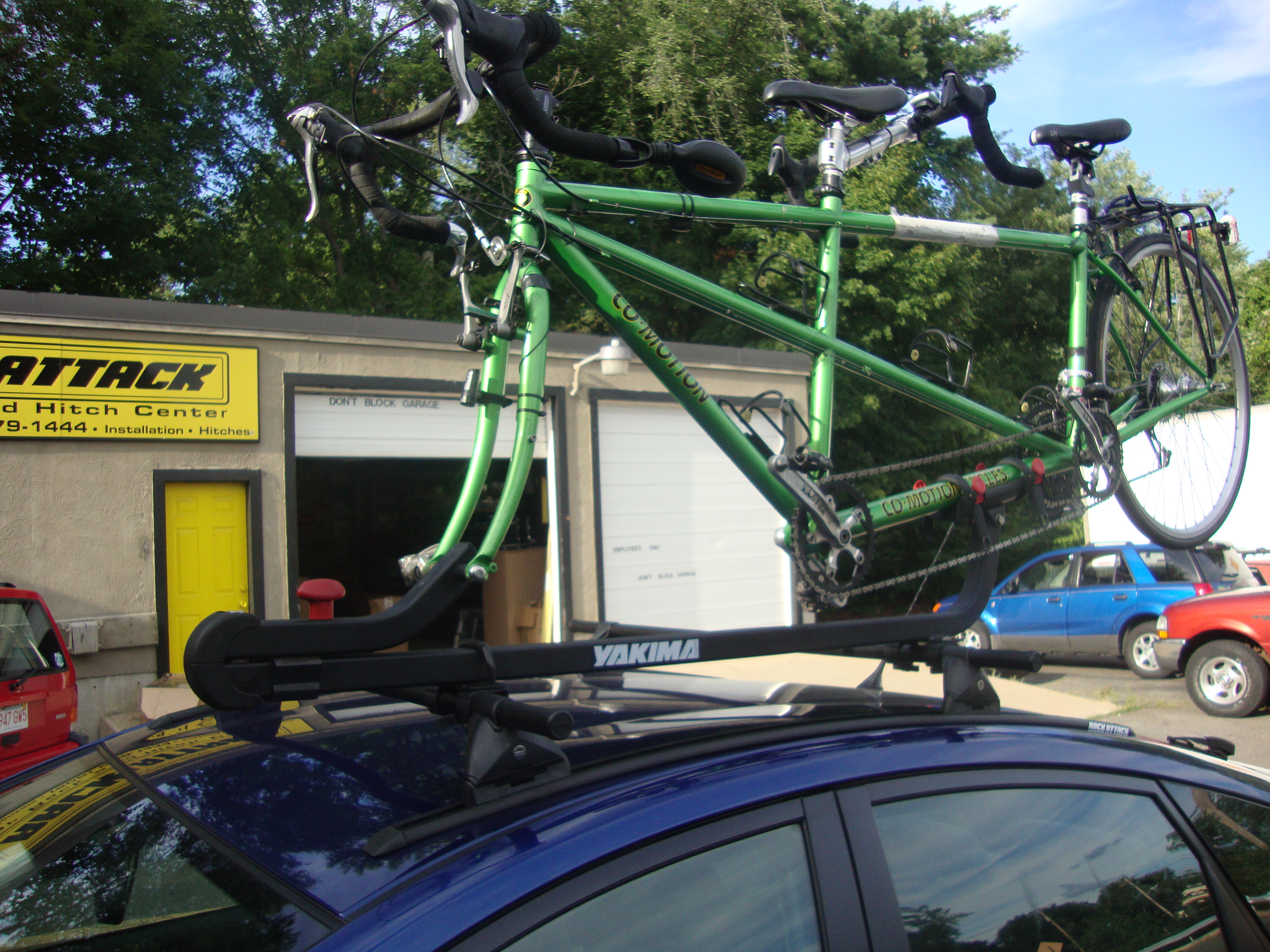 Tandem Roof Rack Thule 12300 About Roof