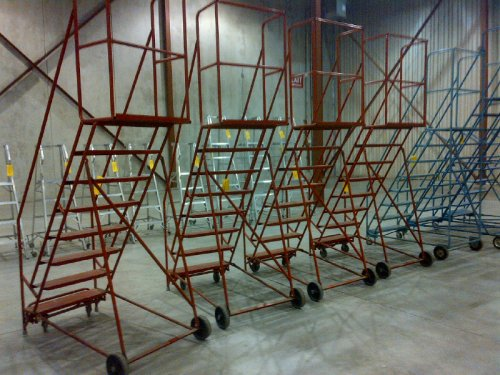 We Sell New And Used Warehouse Rolling Ladders Toronto