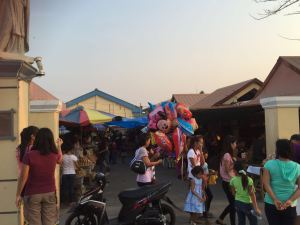 Eingang zum Markt