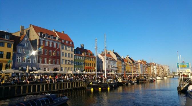 Wunderschönes Nyhavn in Kopenhagen.
