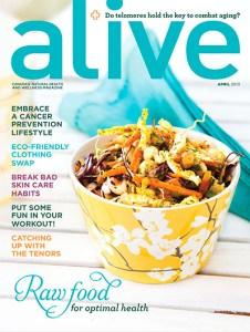Alive Magazine April 2013 | Radiance Wellness by Feuz