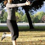 Single leg squat with The Human Trainer | Radiance Wellness Shari Feuz