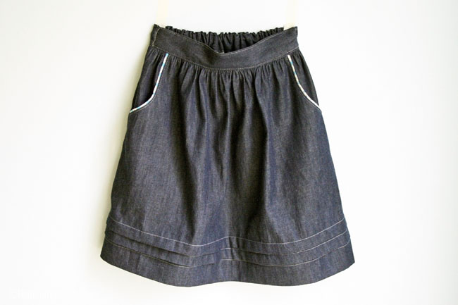 Paris Skirt with Pockets | Radiant Home Studio