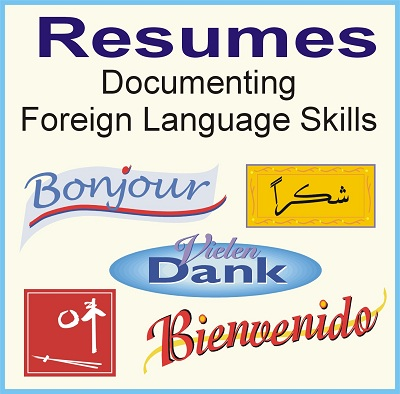 How to Write Resume Foreign Language Skills - Resume Skills