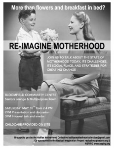 reimagining motherhood poster