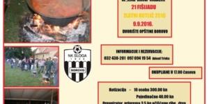 Fudbalski klub Sloga iz Borova organizuje fišijadu