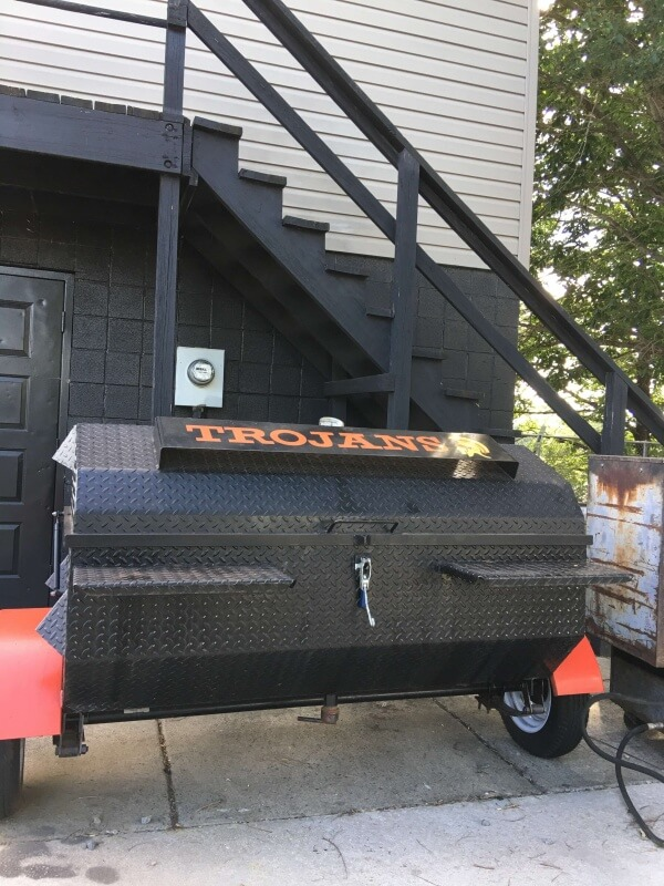 There's always something good to eat at the ballpark. Northwest Cabarrus has a grill and a deep fryer cooking up good stuff.