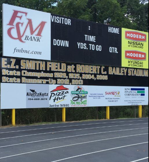 Soon the scoreboards around the county will be lit up with scores.