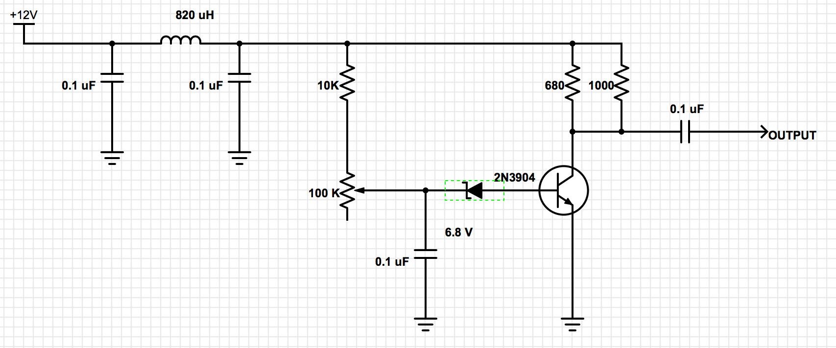 6 volt generator schematic