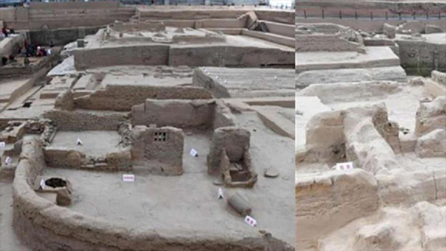 Imágenes difundidas de las seis ciudades enterradas en la urbe de Kaifeng, en el centro de China