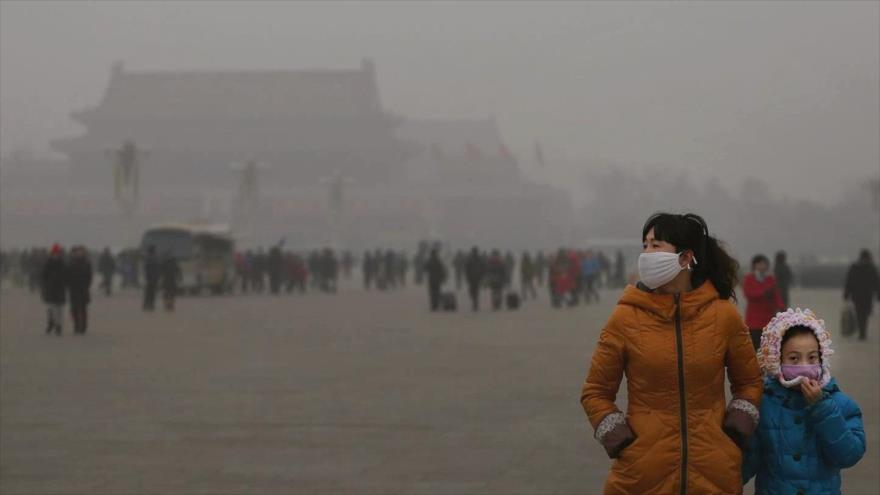 China es el país que sufre la mayor contaminación del aire en el mundo.